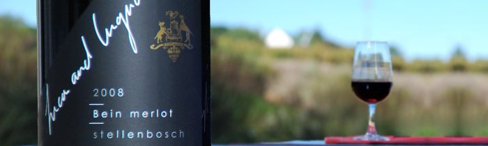 Bein Merlot, the flagship wine of Bein Private Cellar